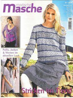 Knitted pullover grey dk.pink csíkos | Női Kötött
