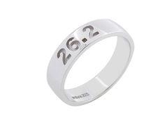 Running Inspired Jewelry by Endure  Marathon Ring 26.2 #runner #gifts