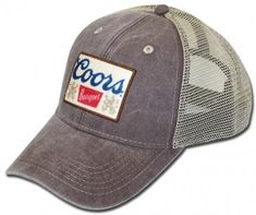 19a5fcb9b2dce Coors Banquet Rustic Slate Mesh Hat