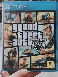 GRAND THEFT AUTO V GTA 5 English French Brazilian Portuguese Korean Traditional Chinese Latin American Spanish Region Free Mutlilanguage Edition PS4 Game by Rockstar Games ** BEST VALUE BUY on Amazon