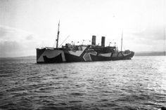 dazzle painting a boat The History of Razzle Dazzle Camouflage