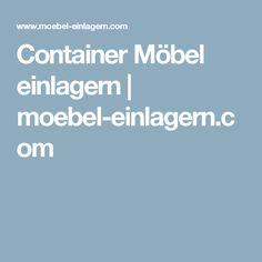 Container Möbel einlagern | moebel-einlagern.com