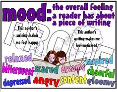 Tone Vs Mood Chart  Cool School Stuff    Chart School