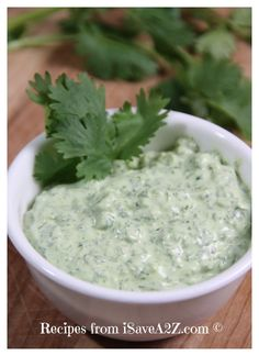 WARNING:  This Cilantro Jalapeno Dip is AMAZING and you may get addicted to it!  You've been warned!