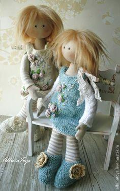 Коллекционные куклы ручной работы: Вита. У ангелов тоже есть секреты.. Handmade.