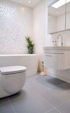 Ska du renovera badrum? Här är badrumsinspiration, 19 badrum med vacker mosaik.