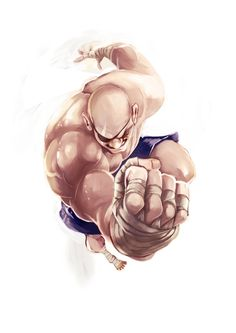 Amazing force perspective Street Fighter Illustrations.