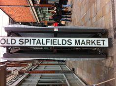 A visit to Spitalfields market, London