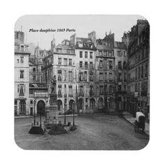 La place Dauphine et son square Paris Vintage, Old Paris, Paris France, Paris Street, Street View, Ile Saint Louis, Tours France, I Love Paris, Paris Photography