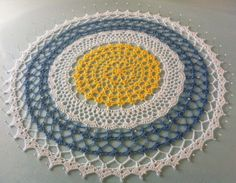 Scotty's Place: May #Crochet Doily
