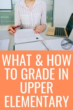 Not sure what to grade or how to grade it?  Learning how to grade is a skill that sometimes takes years to master. The tips in this post will help save your sanity, and make grading more fair for your students. Reading Resources, Reading Skills, Teacher Resources, Teaching Social Studies, Teaching Writing, Teaching Ideas, Upper Elementary Resources, Elementary Teaching, 5th Grade Teachers