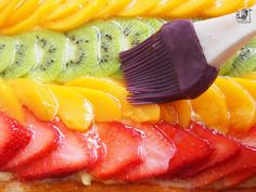 Pan Dulce, Sweet Tarts, Cakes And More, Royal Icing, Bon Appetit, Bakery, Food And Drink, Sweets, Fruit