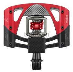 Crank Brothers Mallet 3 MTB Bicycle Pedals Raw/ Red With Cleats 2016 for sale online Mountain Bike Pedals, Bicycle Pedals, Mtb Bicycle, Mountain Biking, Cast Steel, Blue Springs, Bicycle Components, Cool Bicycles, Cleats