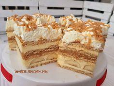 Kliknij i przeczytaj ten artykuł! Polish Cake Recipe, Polish Recipes, Cake Recipes, Dessert Recipes, Vanilla Cake, Tiramisu, Breakfast Recipes, Deserts, Yummy Food