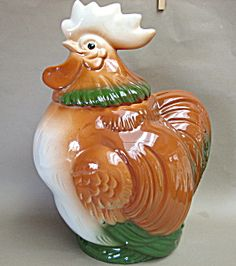 *SIERRA VISTA ROOSTER ~ Cookie Jar