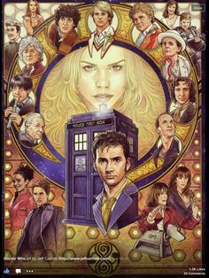 Doctor Who 2008. By Jeff Carlisle
