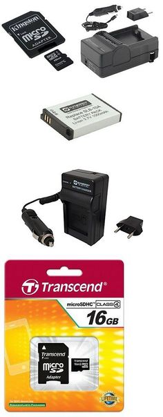 Batteries and Power Accessories: Samsung Wb350f Accessory Kit Of: Battery, Charger, Sdc4 16Gb Memory Card -> BUY IT NOW ONLY: $31.6 on eBay!