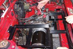 Transform an old car in a electric car