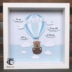 New Baby Gift Ideas - Personalised and Unique Personalised Baby Boy Birts Stats Shadow Box Frame The perfect gift to welcome a little prince into this world and a beautiful addition to any nursery. Shadow Box Baby, Shadow Box Frames, Newborn Baby Gifts, Baby Boy Gifts, Gifts For Boys, Personalized Balloons, Personalized Baby, Personalised Gifts Handmade, Personalised Frames