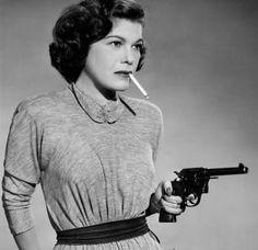 Betty Lou Gerson as Greta Bloch, alias Yvonne Kraus, for The Red Menace, 1949, directed by R. G. Springsteen.