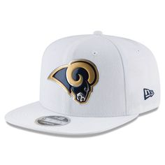 Gear up for the football season with this Los Angeles Rams Color Rush Kickoff Baycik White Snapback Adjustable Hat from New Era! Los Angeles Rams Gear, Gucci Hat, Football Season, Fan Gear, Headgear, Snapback, Nfl, Baseball Hats, Zapatos