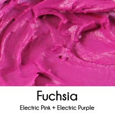Fuchsia Royalicing Color Mixing Decoratedcookies Tutorial Icing Frosting Recipes Cookie