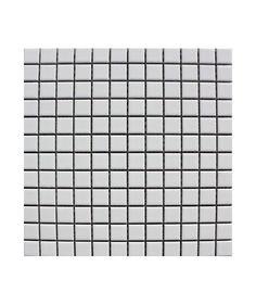 Pool Gloss White 23x23mm Mosaic Tile | Topps Tiles
