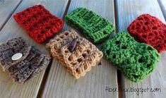Free Crochet Pattern...Coffee Cowls Trio!