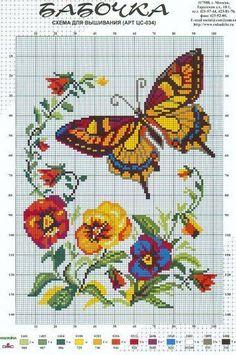 butterfly  flowers: kelebek