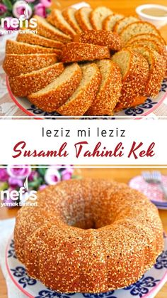 Very Roast Tahini Cake (Awesome) – Delicious Recipes - Kuchen Rezepte Tahini, Best Cake Recipes, Dessert Recipes, Good Food, Yummy Food, Turkish Recipes, Chocolate Brownies, Healthy Dinner Recipes, Delicious Recipes