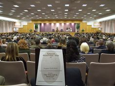 Jehovah's Witnesses Assembly Hall in Holt, Michigan.... Do this for international convention with program on bible