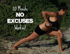 The 20 Minute Workout for People Too Busy to Exercise