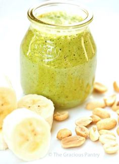 Clean Eating Peanut Butter And Banana Smoothie Recipe