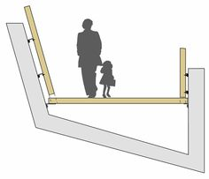 La Sallaz Footbridge by 2b architectes