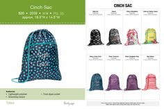 A Thirty-One favorite in NEW Fall prints!  The Cinch Sac http://www.mythirtyone.com/JenWillett