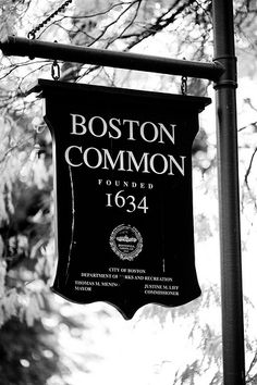 Boston Common 1634