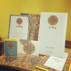 36 Ideas wedding invitations indian traditional vintage modern for 2019 Wedding Card Design Indian, Indian Wedding Cards, Indian Wedding Invitations, Wedding Invitation Cards, Wedding Designs, Custom Stationery, Custom Invitations, Wedding Stationery, Indian Prints