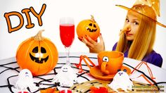 DIY Halloween Decorations (includes jump scare) – How To Make Ghosts, Pu...