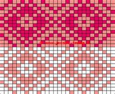 02 Free color charts knitting patterns Norwegian Fair Isle breien ...
