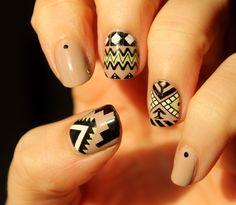 Tribal nails, MoYou Explorer 27