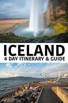 First time in Iceland? 4 day itinerary and travel guide! First time in Iceland? 4 day itinerary and travel guide! Top Europe Destinations, Travel Europe Cheap, Travel Through Europe, Europe Travel Guide, European Travel, Travel Guides, Travel Info, Budget Travel, Best Iceland Tours