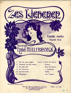 Art Nouveau Sheet Music