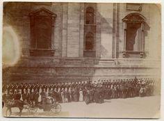 Corteo per la visita dell'Imperatore Guglielmo II a Leone XII Datazione: 1903