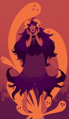Homestuck Wallpaper, Homestuck Characters, Cartoon N, Davekat, Drawing Prompt, Aradia, Bestest Friend, Demon Girl, Cherub