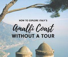 Amalfi Coast Tour - Amalfi Coast Itinerary