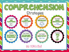 Comprehension Strategies!