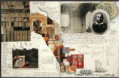 """Gerard Lange  """"These journals function both as records of daily life and as common- place books, containing ideas, information and inspirations."""""""