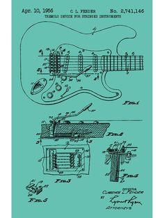Fender Stratocaster Guitar - C.L. Fender - 1956
