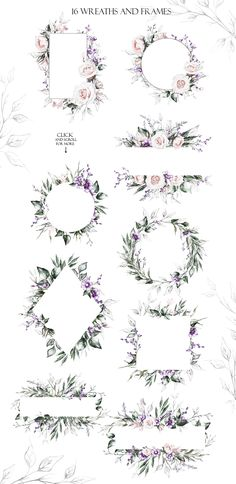Spring Melody. Floral Design bundle by Lisima on @creativemarket