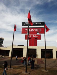 Texas Tech Red Raiders!